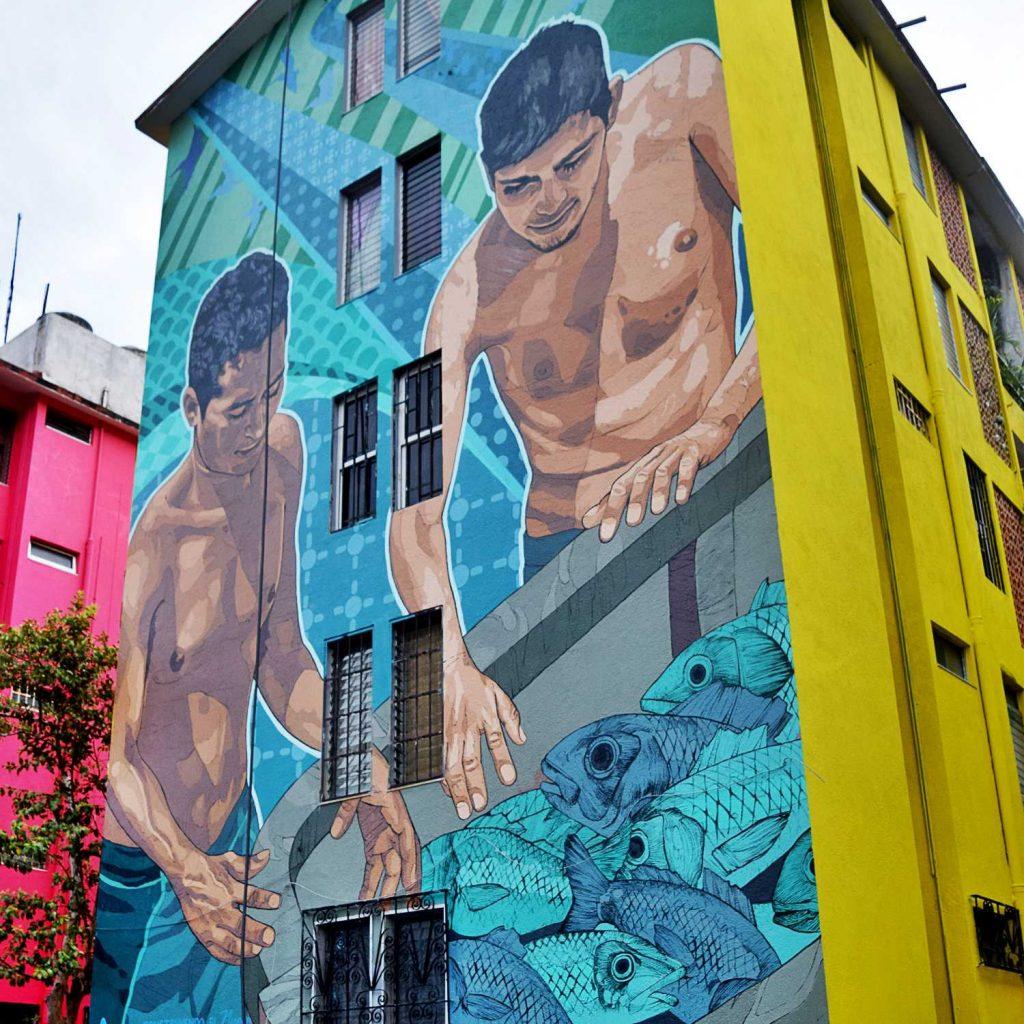 Arte urbano en acapulco