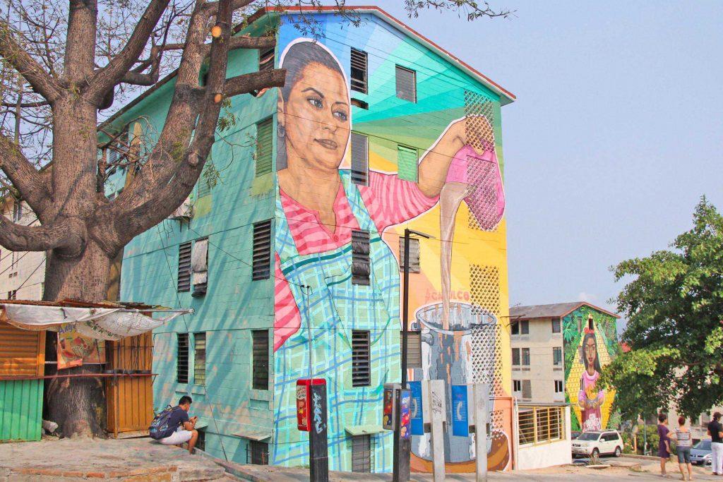 confía en el arte urbano