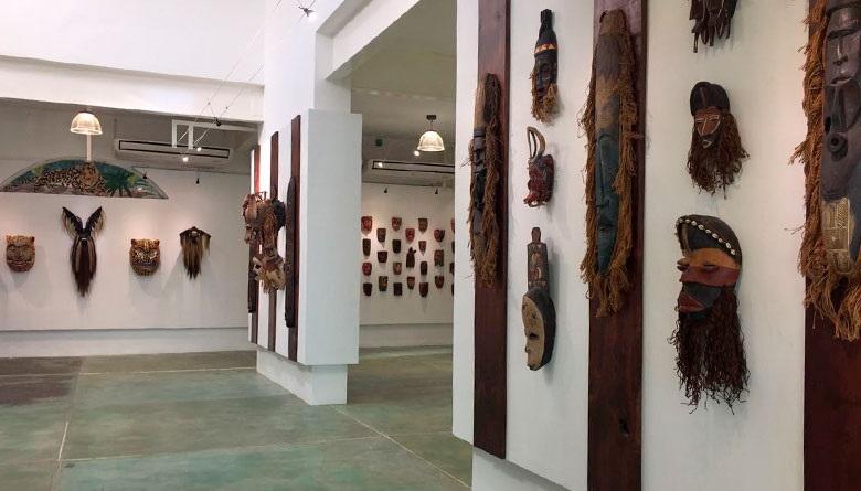 Museos en acapulco: Casa de la mascara