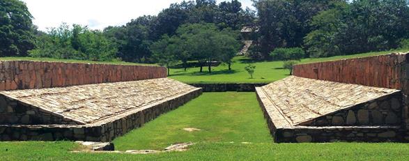 Zona  Arqueológica Tehuacalco