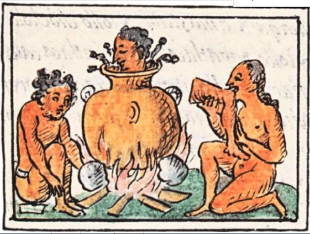 origen del pozole práctica caníbal